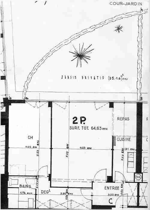 location d 39 un appartement meubl de standing paris plans du quartier latin et de l 39 appartement. Black Bedroom Furniture Sets. Home Design Ideas